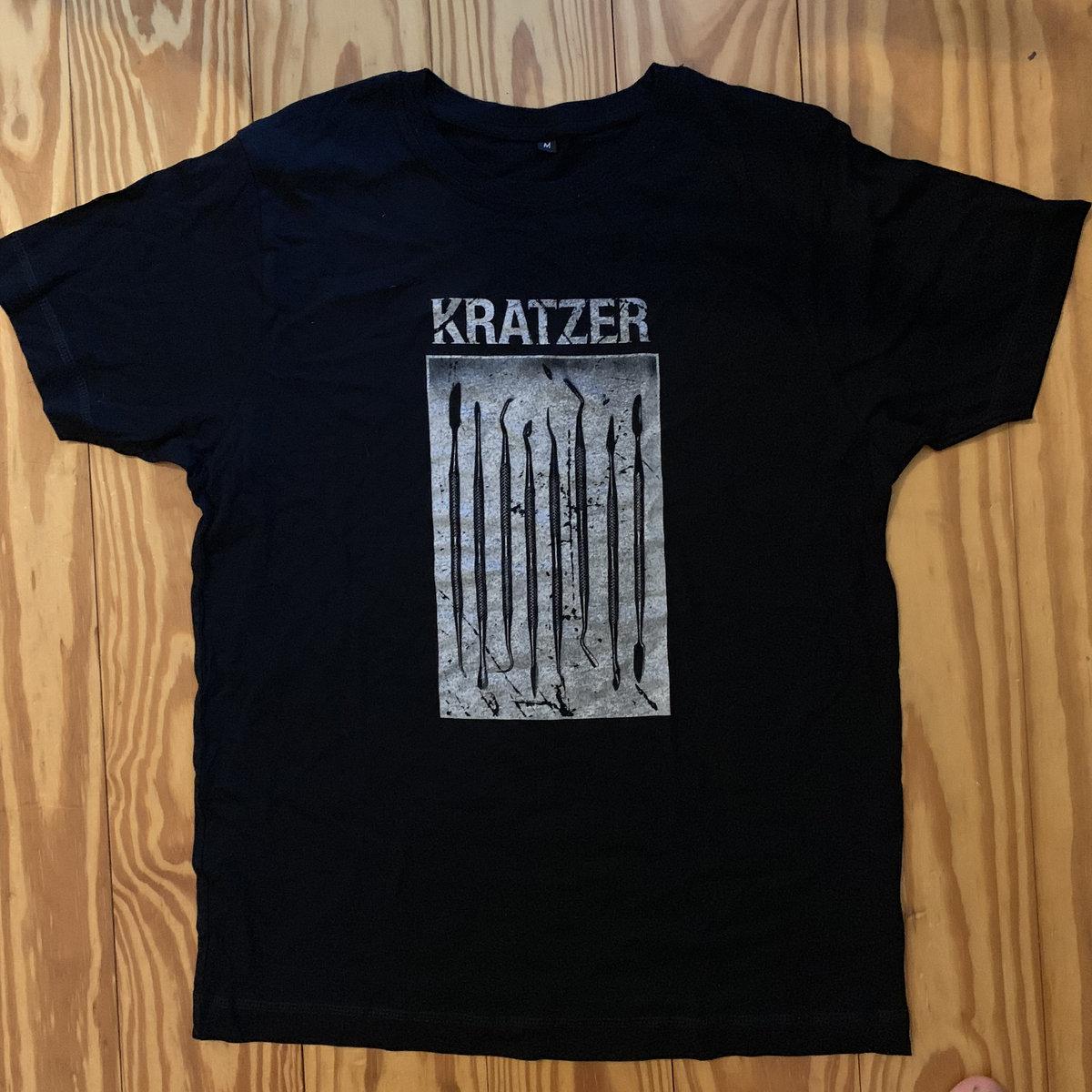 Tool Design T Shirt Silver Kratzer