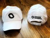 Whirlwind Adjustable Baseball Hat (white & black) photo