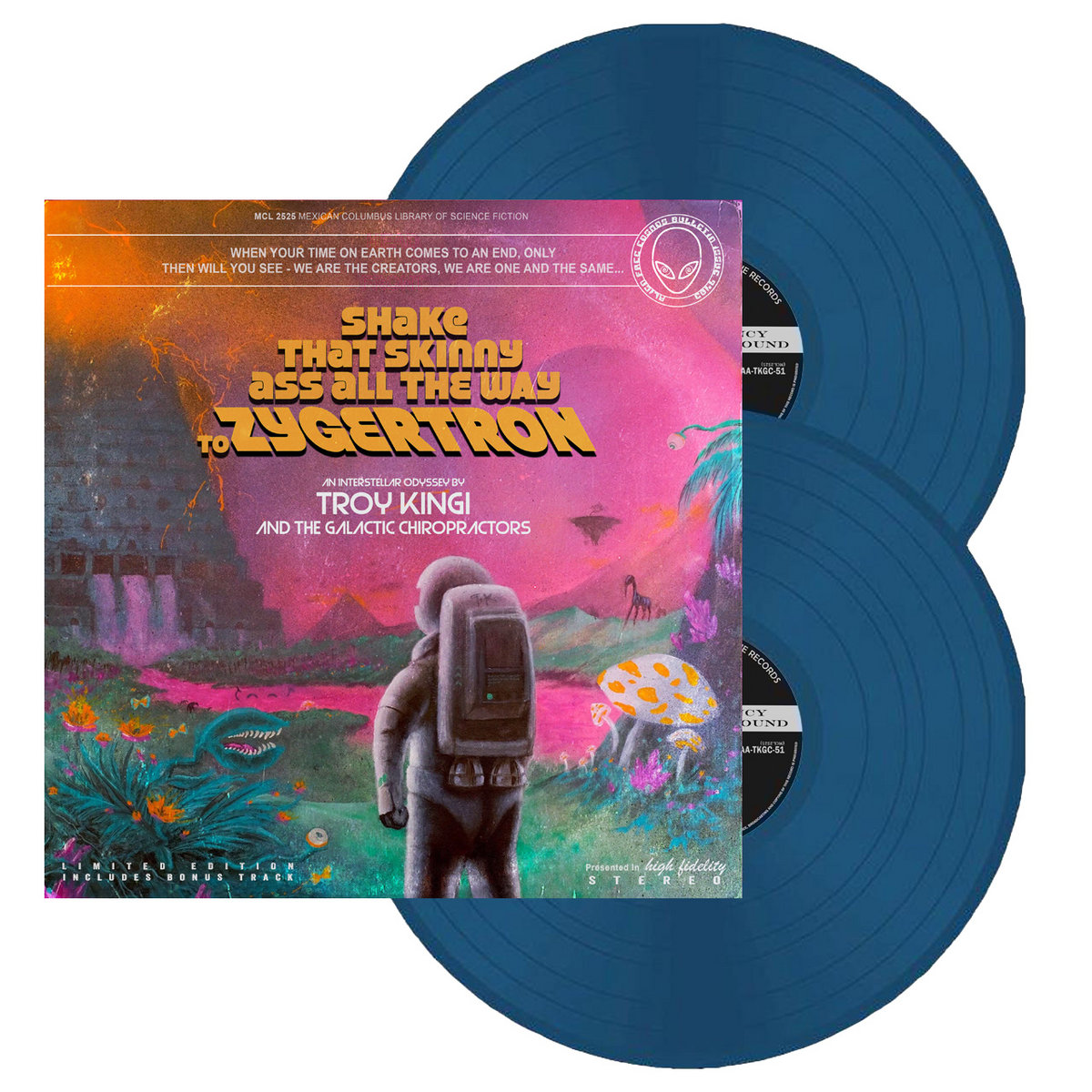 Limited Edition Double Coloured Vinyl With Bonus Track