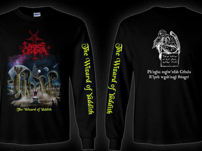 "Caedes Cruenta ""The Wizard of Yaddith"" long-sleeve main photo"