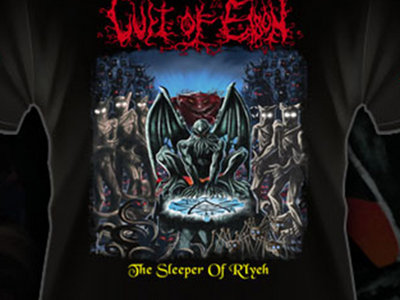"Cult of Eibon ""The Sleeper of R´Lyeh"" tshirt main photo"