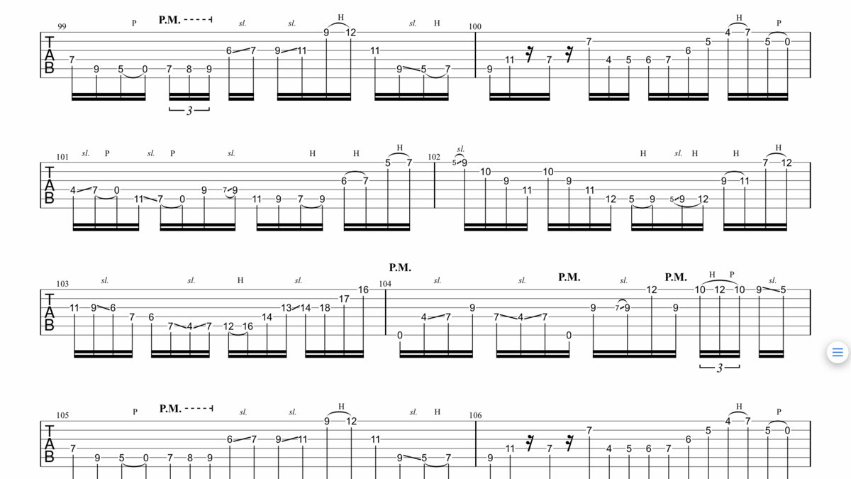 Charlie Robbins/Syncatto - New Places - Guitar TAB pack