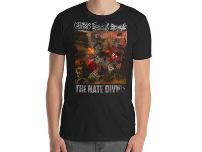 Coathanger Abortion / Sacrificial Slaughter / Rottenness - The Hate Divide T-Shirt main photo