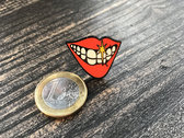 Limited-edition Smile lapel badge photo