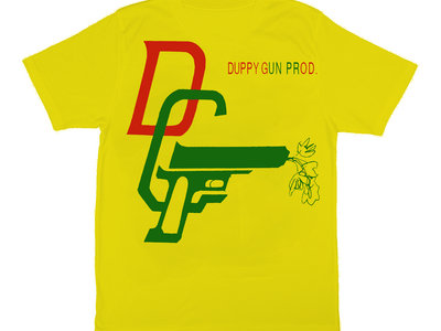 Duppy Gun T Shirt (Yellow) main photo