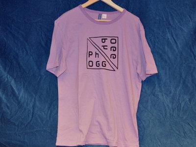 Phogg Logo T-Shirt (Corme Strips Purple) main photo