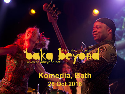 Baka Beyond at Komedia, Bath 28/10/18 main photo