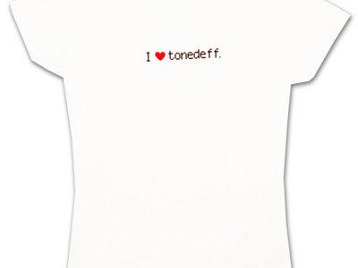 Tonedeff - I Love Tonedeff (Women's M) main photo