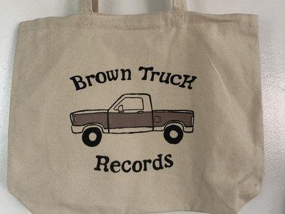 Brown Truck (Large) Tote Bag main photo