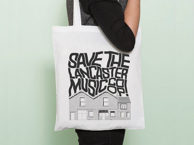 Save The Lancaster Music Co-op! (Tote Bag) main photo