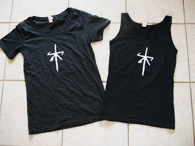 'Hypothermia sigil' girlie/tank top main photo