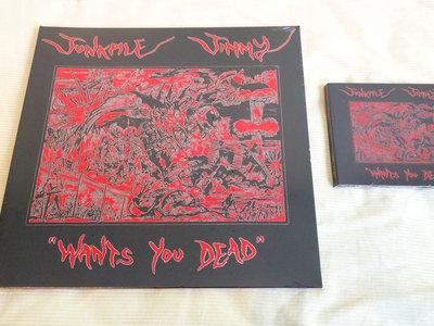 """""""Wants You Dead"""" LP + CD bundle main photo"""