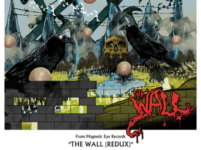 The Wall [Redux] Limited Edition Handmade A1 Art Print main photo