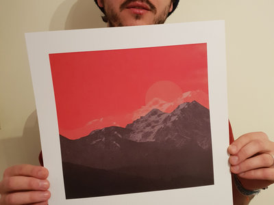 Limited Edition 'Rising Sun' single artwork print [A3] + track instant download main photo