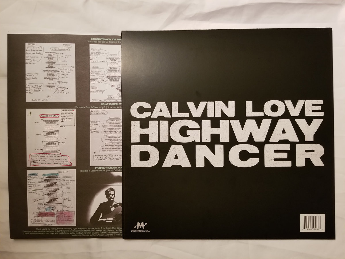 You Got Me Runnin'   CALVIN LOVE