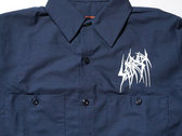 SETE STAR SEPT long sleeve work shirt - Red Kap 4.25oz - Navy photo
