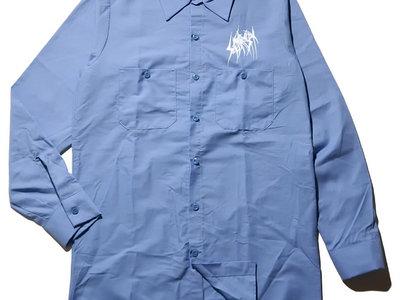 SETE STAR SEPT long sleeve work shirt - Red Kap 4.25oz - Light Blue main photo