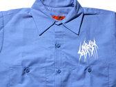 SETE STAR SEPT long sleeve work shirt - Red Kap 4.25oz - Light Blue photo