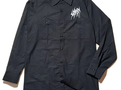 SETE STAR SEPT long sleeve work shirt - Red Kap 4.25oz - Black main photo