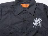 SETE STAR SEPT long sleeve work shirt - Red Kap 4.25oz - Black photo