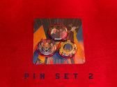 Button Pins (Set of 3) photo