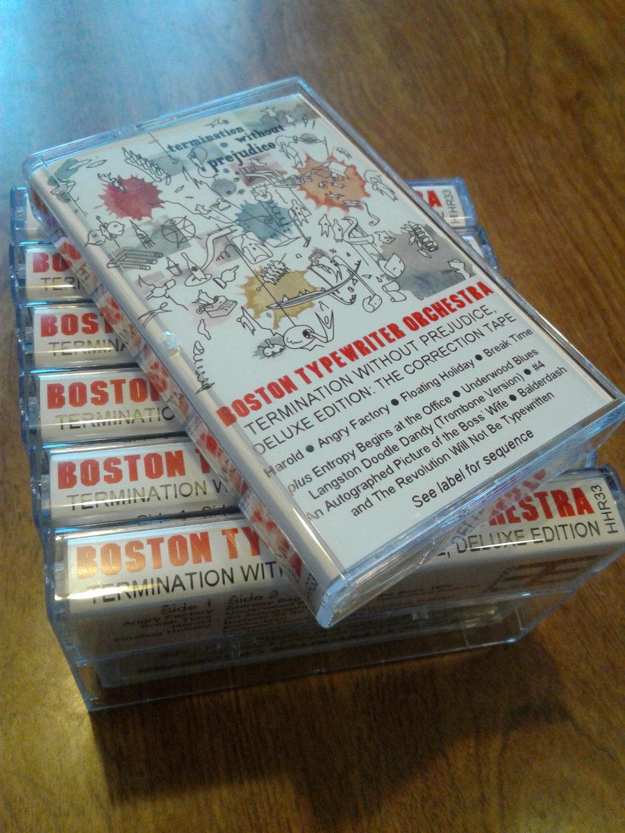 Termination Without Prejudice, Volume 1 | The Boston Typewriter