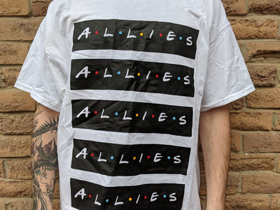 """ALLIES"" Design (WHITE) main photo"