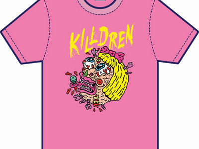 Killdren Face Full Colour Print T-Shirt main photo