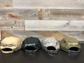 Kong Squad Front /Good Kompany Back - Dad Hat (Green, Grey, Black, Tan) photo