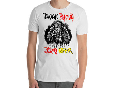 Horror Pain Gore Death - Drink Blood Bleed Beer T-Shirt main photo