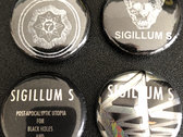 Sigillum S Enamel Metal pin badge + all 4 x 2.5 cm badges bundle photo