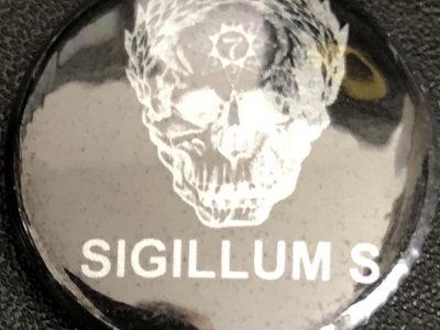 Sigillum S 2.5 cm skull badge main photo