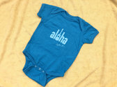 Aloha Baby Onesie photo