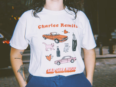 Unsigned Sad Girl Music T-Shirt main photo