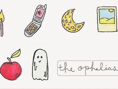 """little ghost"" Mini Sticker Pack main photo"