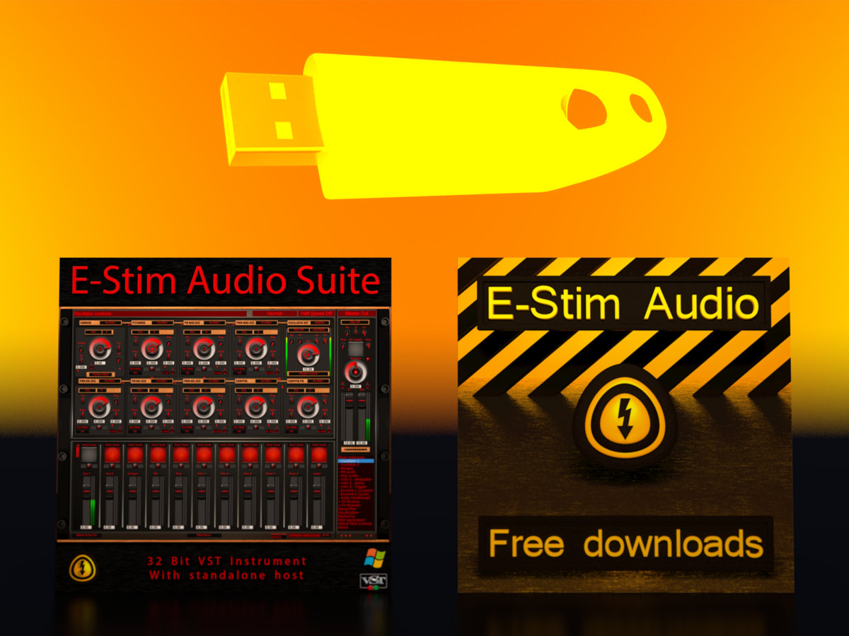 E Stim Audio Suite On A Sandisk Ultra 32 Gb Usb 3 0 Drive Digital Download Of E Stim Audio Suite
