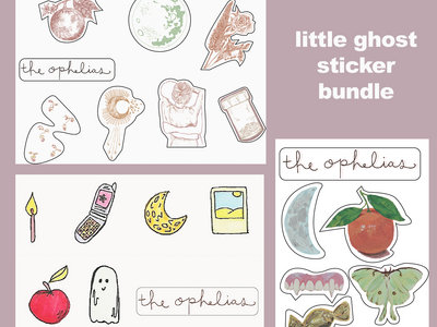 """little ghost"" Sticker Pack Bundle main photo"