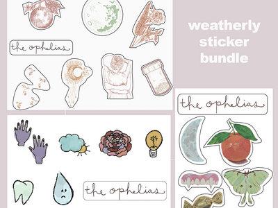 """""""Weatherly"""" Sticker Pack Bundle main photo"""