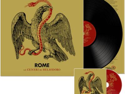 ROME: Le Ceneri Di Heliodoro (Black Vinyl + CD) main photo