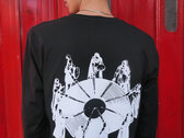 Shall Not Fade L/S 'Round Table' Tee - Black / White photo
