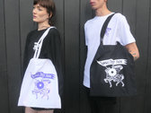 Shall Not Fade 'Knight' Tote Bag photo