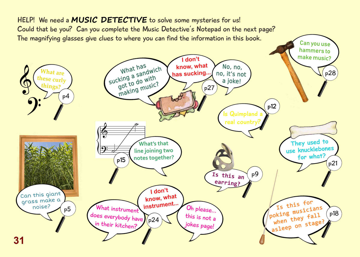 Let the Sunshine In! Quiz and Music Detective Book for 8 to 10-Year