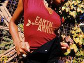 """""""Sangre y Oro"""" Earth Arrow V-Neck Tee photo"""