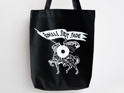 Shall Not Fade 'Knight' Tote Bag - Black / White main photo