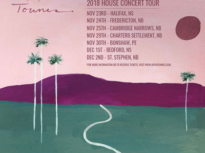 Adyn Townes - Rockingham House Concerts, Nov 23rd (Halifax, NS) SOLD OUT main photo