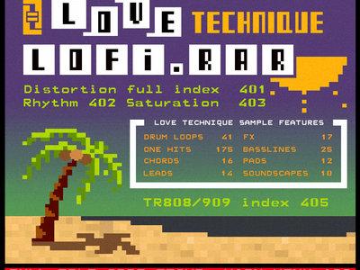 Lofi rar [372mb Sample Pack]   Love Technique