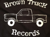 Brown Truck Tee - Black photo