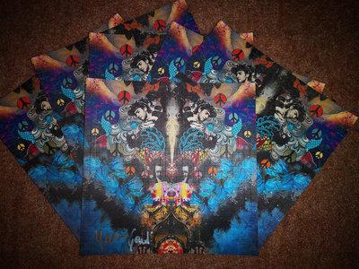 Special Edition: YOUTH & GAUDI - 'Astronaut Alchemists' blotter art main photo