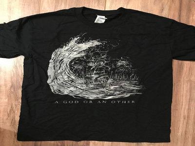 """""""Metastasis"""" black shirt main photo"""