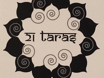 21 Taras White & Black Lotus Sticker main photo